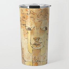 """Paul Klee """"Angelus Novus 1920"""" Travel Mug"""