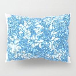 March's Blue 4   Artline Drawing Pens Sketch Pillow Sham