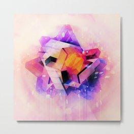 M'Kraan Crystal Metal Print