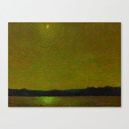 Tom Thomson Moonlight Canadian Landscape Artist Canvas Print