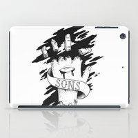 sons of anarchy iPad Cases featuring Sons of Anarchy - Hand by Christiano Mere
