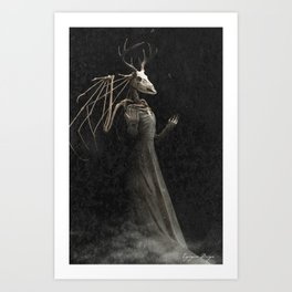 The Mother of Autumn Art Print