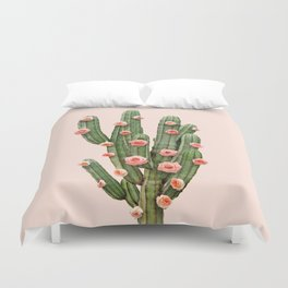 CACTUS AND ROSES Duvet Cover