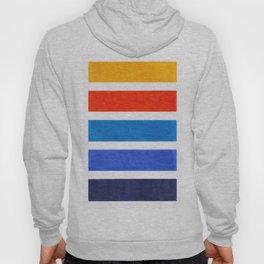 Blue & Orange Stripe Pattern Hoody