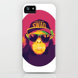 This Means Swag iPhone Case