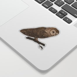 Harvest Owl Sticker
