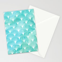 Mermaid Fans: Maldives Sea Stationery Cards