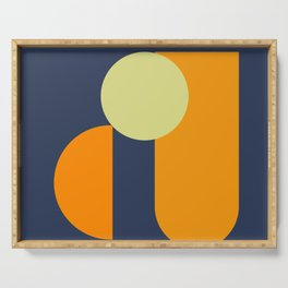 7 | Being You | 190809 | Digital Geometrical Abstract | Serving Tray