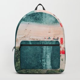 Beach sky view Backpack