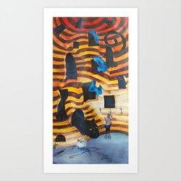 Tigres Art Print