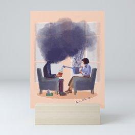 Therapy Mini Art Print
