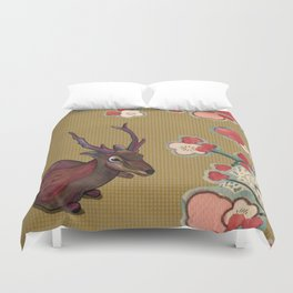 It's Better in the Shade Duvet Cover
