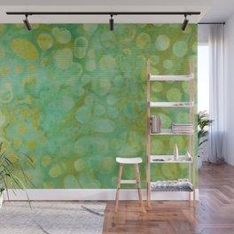 Green Batik 02 Wall Mural