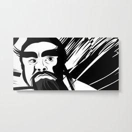 Nina-Hu Metal Print
