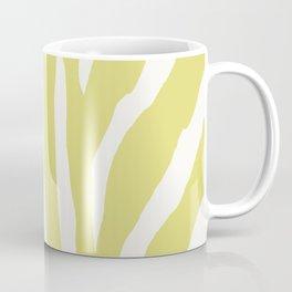 Citrus & White Zebra Print Coffee Mug