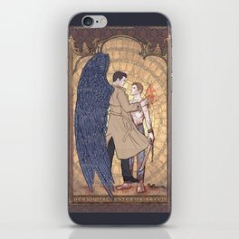 Angelic Intervention (Dean Winchester is Saved) iPhone Skin