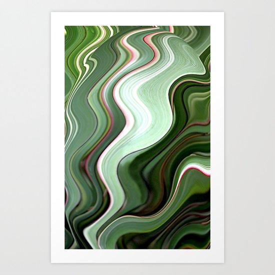 Green Dream Art Print