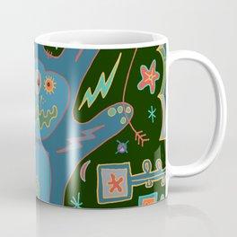 Rabbit Talk Coffee Mug