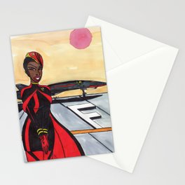 Welcome to My Office Stationery Cards
