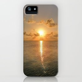 San Pedro Sunset iPhone Case