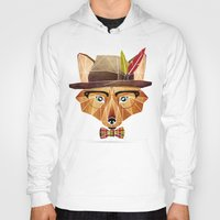 mr fox Hoodies featuring mr. fox by Manoou