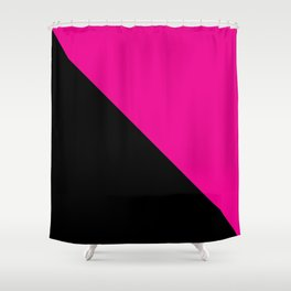 Queer power Shower Curtain