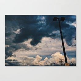 Clouds of the Storm Canvas Print