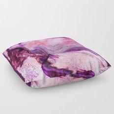 Marbled Garnet Floor Pillow