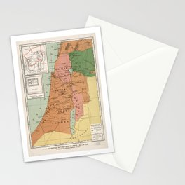 Palestine in the time of Jesus, 4 B.C. - 30 A.D Stationery Cards