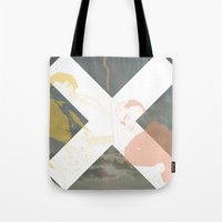 the xx Tote Bags featuring XX by Itxaso Beistegui Illustrations