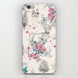 Deer pattern iPhone Skin