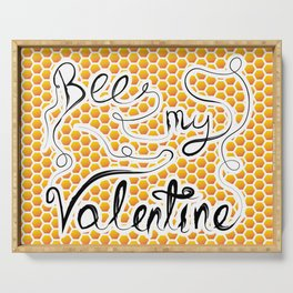 Bee my Valentine Serving Tray