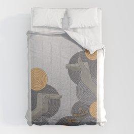 Hope Opens Heaven - (Artifact Series) Comforters