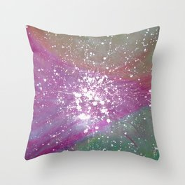Growth of Heart Throw Pillow