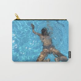 we could live underwater Carry-All Pouch