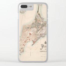 Macau 1889 Clear iPhone Case