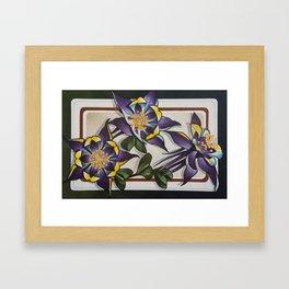 Columbines Framed Art Print