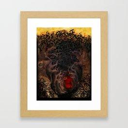 the Heart of the Forest Framed Art Print