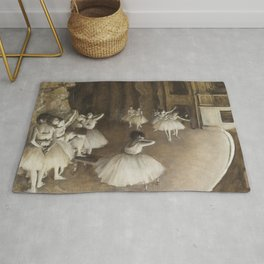 Ballet Rehearsal on Stage Rug