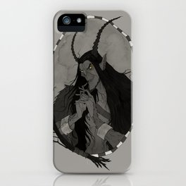 The Krampus iPhone Case