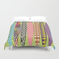 surfing Duvet Covers featuring Surfing? by DesignsByMarly