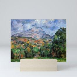 """Paul Cezanne """"Mont Sainte-Victoire"""", c.1890 Mini Art Print"""