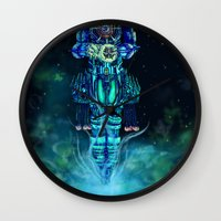 architect Wall Clocks featuring Architect 1  by HourglassAxis