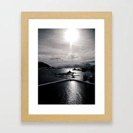 UP NORTH03 Framed Art Print