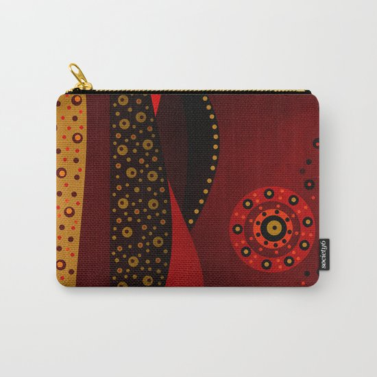 Red spring Carry-All Pouch