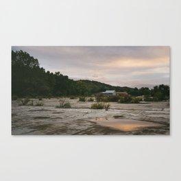 Pennsylvania // Reflections Canvas Print