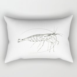 Amano Shrimp Rectangular Pillow