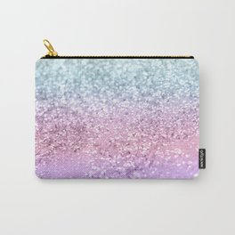 Unicorn Girls Glitter #4 #shiny #pastel #decor #art #society6 Carry-All Pouch
