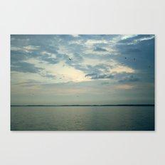 Lake Erie Twilight Canvas Print