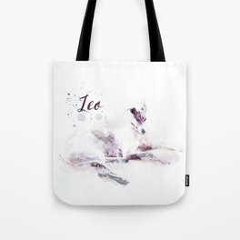 Leo the Greyhound Tote Bag